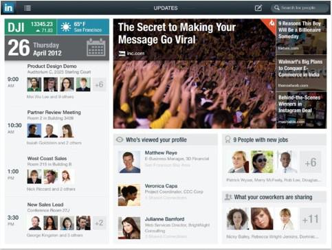 LinkedIn-iPad