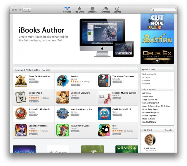 The Mac App Store is thriving.