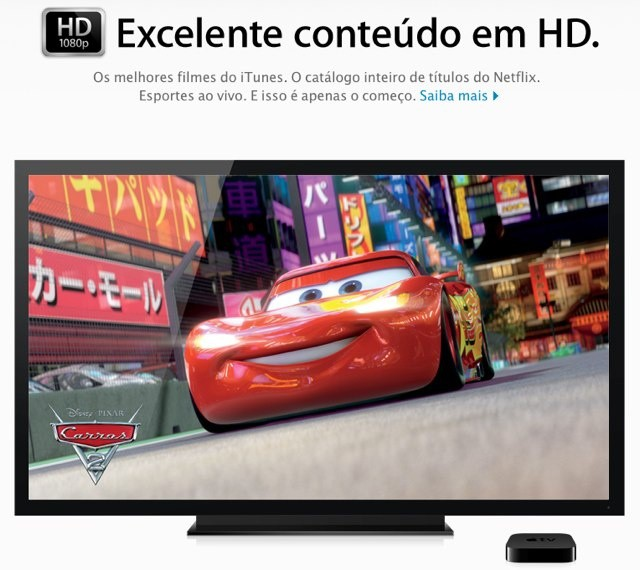 The new Apple TV costs more than twice as much in Brazil.