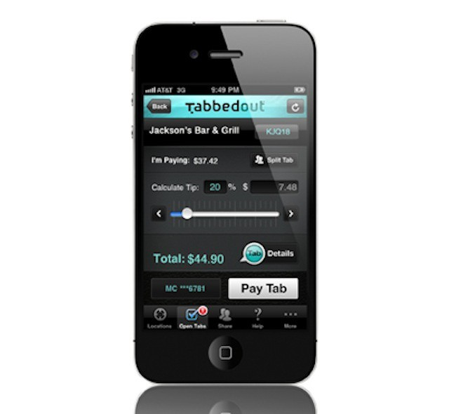 Tabbedout makes mobile payments from iPhones mainstream