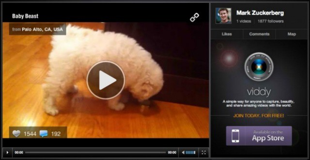 Was Zuckerberg simply showing off his pooch, or is he eyeing up another takeover?