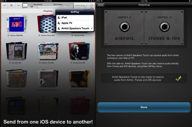 AirFoil now has full iPad Retina support along with AirPlay streaming