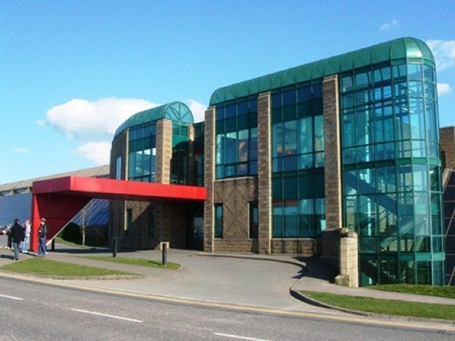 Apple's headquarters in Cork, Ireland. Nowhere near as pretty as its Cupertino campus.