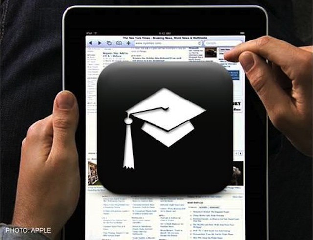 Apple's e-textbooks and iPad in education initiative leaves colleges largely out of the picture - for good reasons