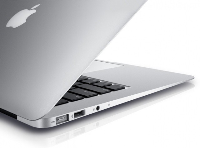 The MacBook Air quickly snatched away the title of world's thinnest notebook. Tapering down to an astonishing 0.16