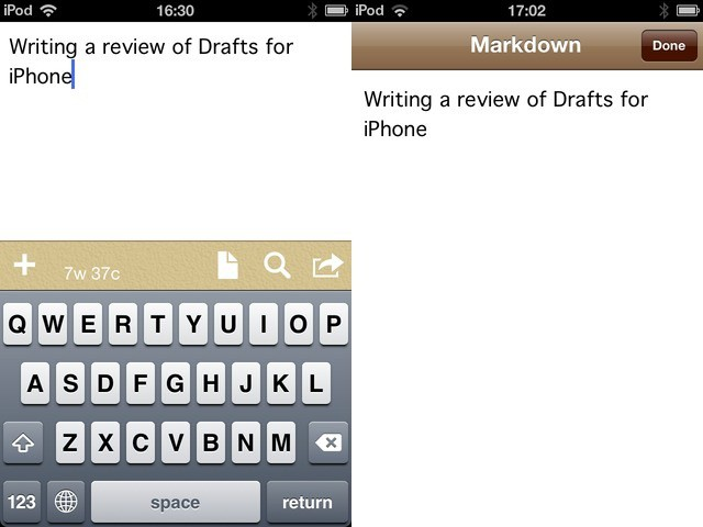 Drafts will become your default way to capture text