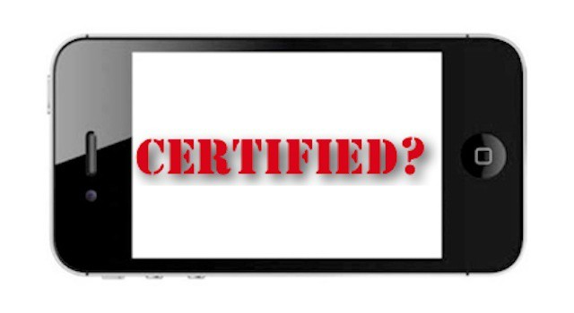 Is there a need for iOS/mobile certification or is the market evolving too fast for one?