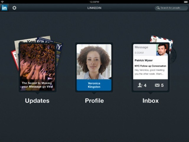 LinkedIn's new iPad app focuses on simplicity and efficiency