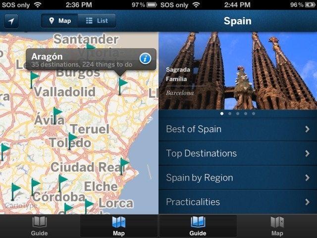 Find all the most crowded tourist hotspots with Lonely Planet's new country guides