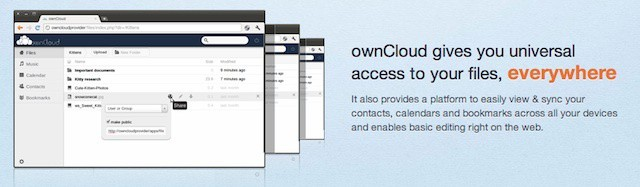 Open source ownCloud offers private business clouds