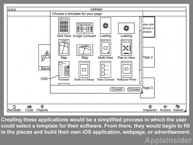 iOS development could be as easy as selecting a template and filling in the blanks.