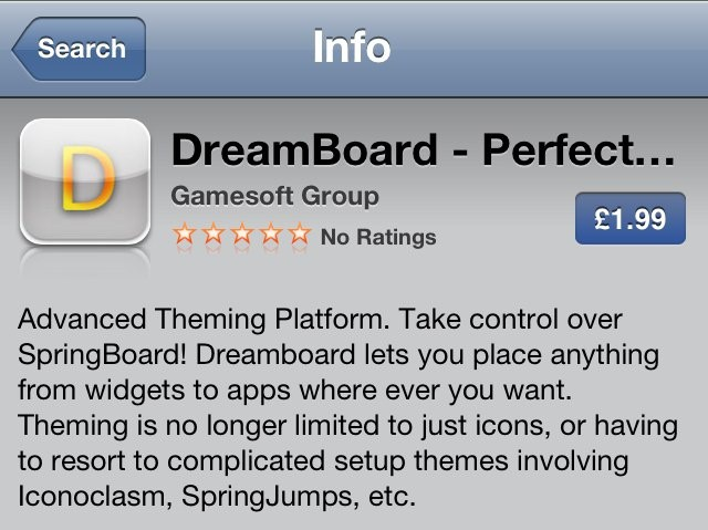 Despite what its description says, this DreamBoard knockoff is nothing but a waste of $3.