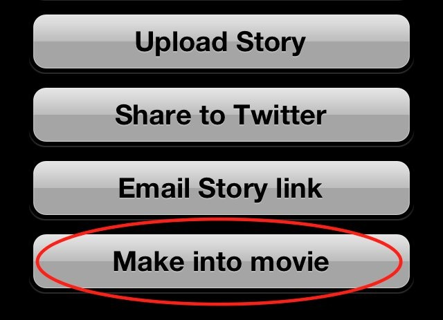 Now you can export Picles as movie files