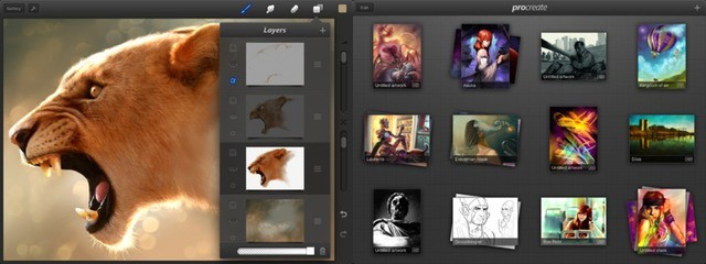 Procreate piles on the new features, and yet remains lag-free and easy to use