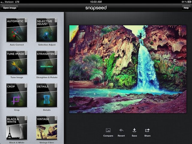 Image result for how to edit photos in snapseed