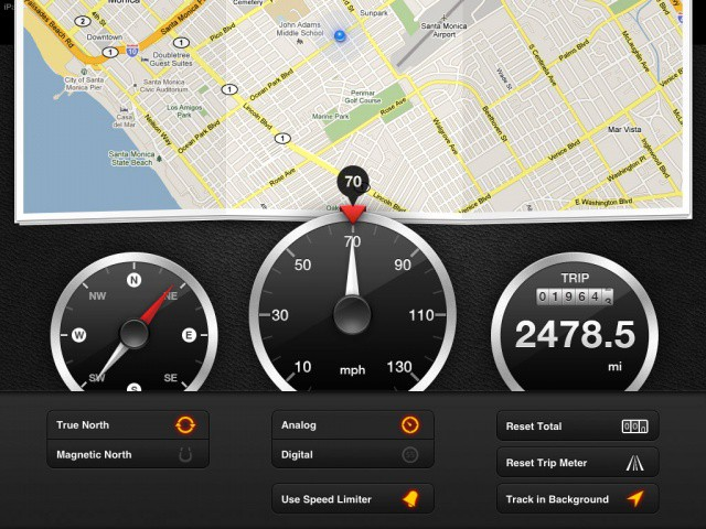 Speed Turns Your iPad Into A Car GPS, Also Tells You How