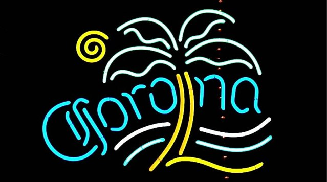 Corona-sign