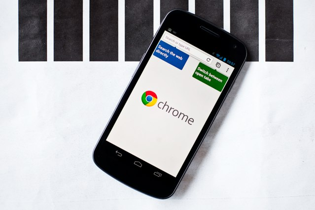 Chrome is in beta on Android, and it's coming to iOS, too. (Image courtesy of Wired.)