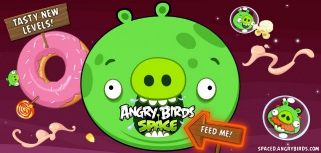 It's impossible to get bored of Angry Birds Space with all these levels!