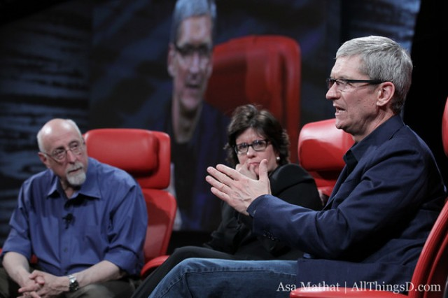 Cook believes Walt Mossberg and Kara Swisher were too soft on Tim Cook during the D10 interview this week.