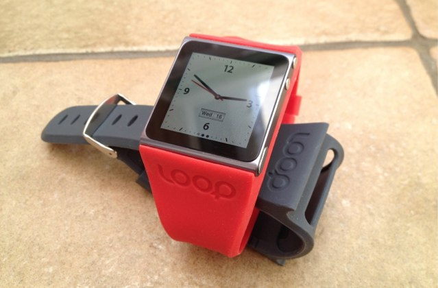 The Loop is a sleek, stylish, and lightweight iPod nano wristband.