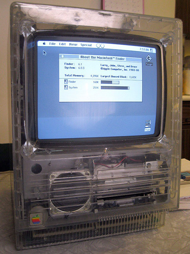 Mac SE Clear Case