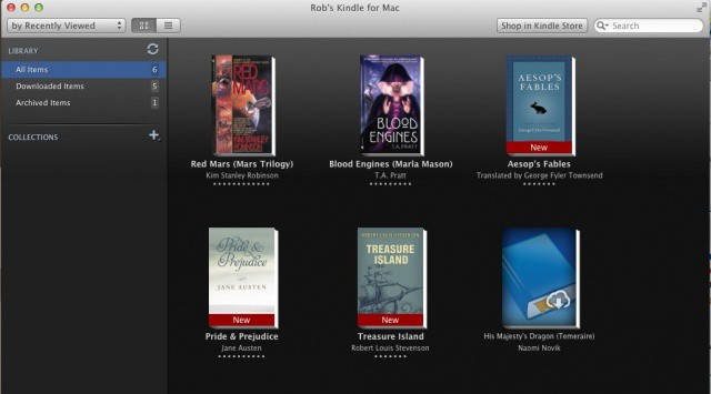 Mac Reads eBooks