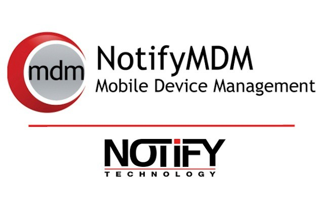 Notify offers self-servicing options for users and mobile data for IT managers