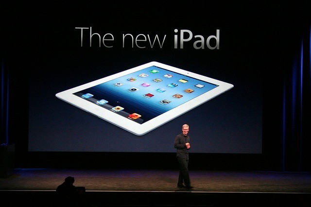 According to Velti, new iPad growth is slow compared to the iPad 2