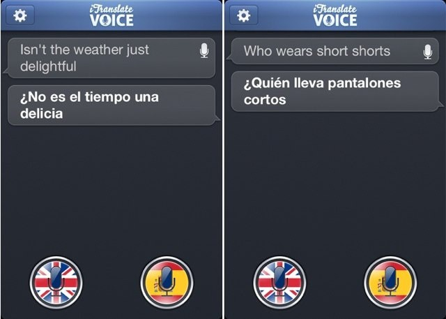 iTranslate Voice is voice translation on the iPhone executed perfectly.