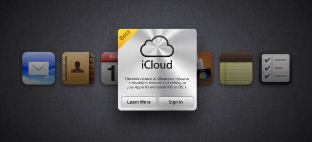 The Notes and Reminders app icons were briefly added to iCloud's beta portal on the web.