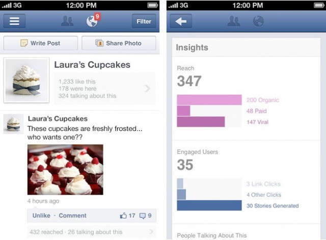 Facebook Pages Manager iPhone App Now Available In U S  App