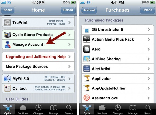 How To Backup Your Jailbreak Apps And Tweaks From Cydia [Ultimate