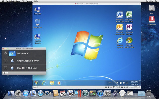 Parallels offers tools and guidance for mass Windows on Mac deployments