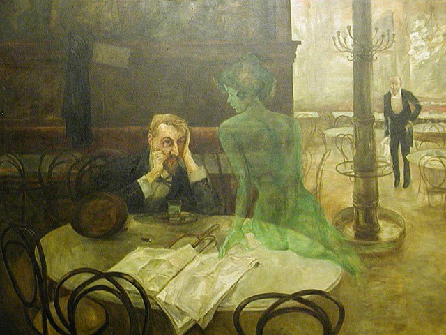 You'll have a date with Absinthe yourself later this week.