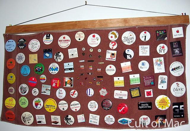 Wozniac Button Collection