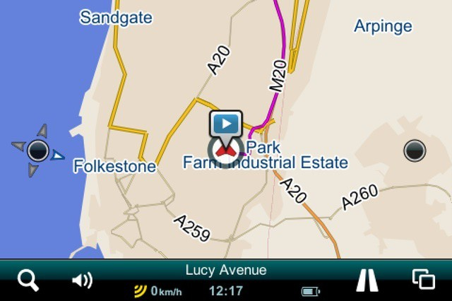 This app knows where you are, even if you don't