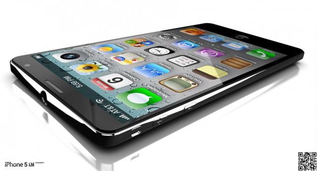 An iPhone 5 concept design