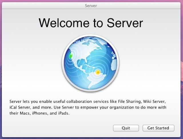 Server app is Apple's current approach to OS Server Installs