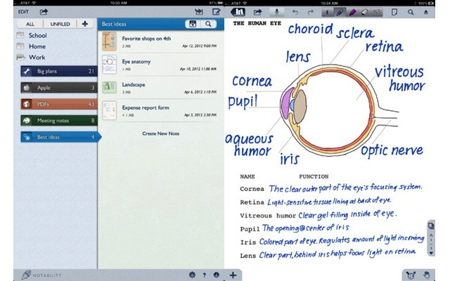 Notable New iPad Apps: Write for Dropbox