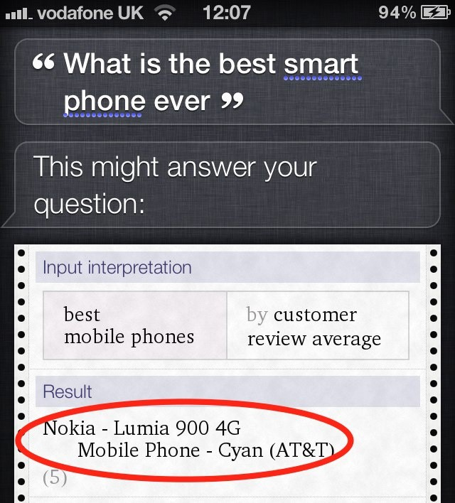 Siri, how could you?