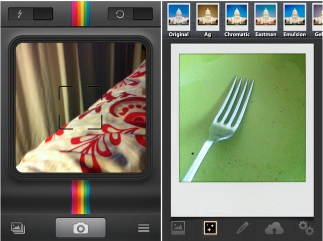 Hey Polaroid! Welcome to the party! All the other camera apps are in the kitchen