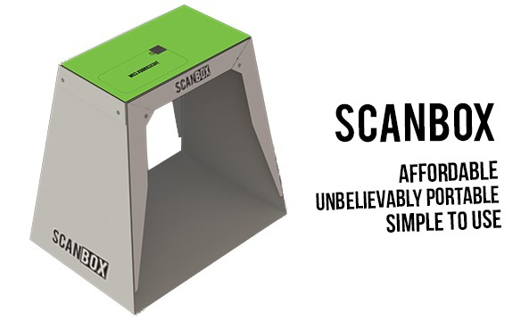 Yes, it is a fancy box, but it makes scanning on your iPhone a breeze.