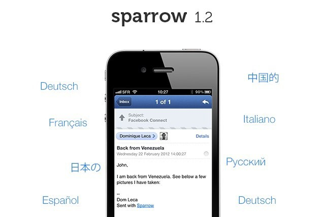 Want push support in Sparrow for iPhone? You're going to have to pay extra for it.