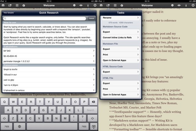 The Best Pro Writing App for Mac (and iOS)