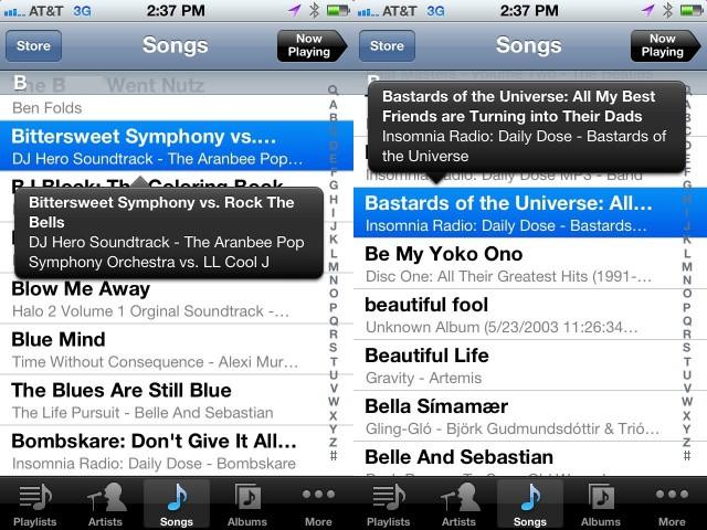 Music App Tip