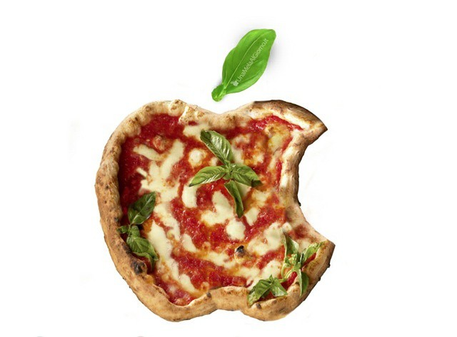 Conceptual mock-up of what the iPizza might look like.