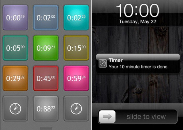 Timer-iPhone