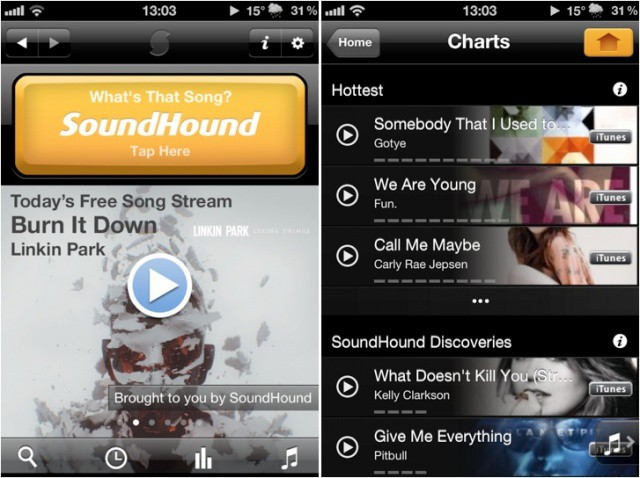 SoundHound is even faster with version 5.0, despite a ton of new features.