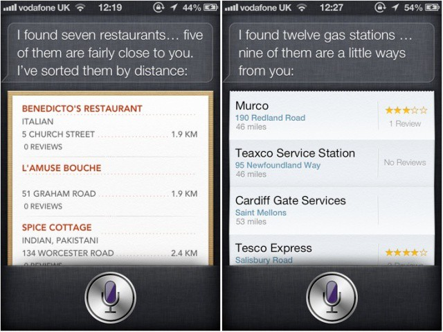 Siri will finally find places internationally.